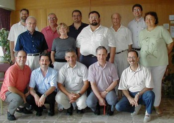 Figure 3: Participants in the nine-day Teachers' Course in Family Medicine held during 2002-3, with facilitators Dr Marek Jezierski & Prof. Rosslynne Freeman and coordinator Dr Philip Sciortino (standing first, fourth and sixth from left)
